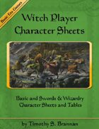 Witch Character Sheet - Folio