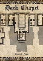 Dark Chapel - Dungeon Map