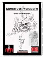 Monstrous Menagerie Vol. I