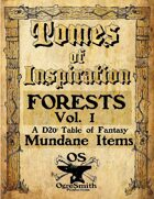Tomes of Inspiration: Forests vol 1 Mundane Items