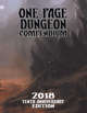One Page Dungeon Compendium 2018 Tenth Anniversary Print Edition