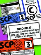 SCP Prop Cards