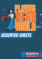 Assorted Sheets for Icons