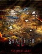 Shattered RPG: World Map