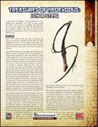 Treasures of NeoExodus: Ichor Sting (PFRPG)