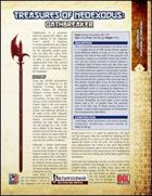Treasures of NeoExodus: Oathbreaker (PFRPG)