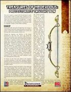 Treasures of NeoExodus: Protectorate Twilight Bow (PFRPG)