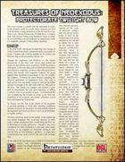 Treasures of NeoExodus: Protectorate Twilight Bow (PFRPG)
