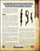 Treasures of NeoExodus: Euhudi's Sacrificial Knives (PFRPG)