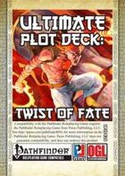 Ultimate Plot Decks: Twist of Fate (PFRPG)