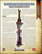 Treasures of NeoExodus: Daemonwatch Blade (PFRPG)