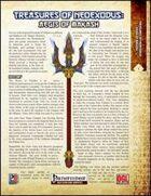 Treasures of NeoExodus: Aegis of Makash (PFRPG)
