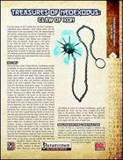 Treasures of NeoExodus: Claw of Xon (PFRPG)