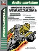 Weapons of Power Armor Destruction 3 (D20 Future)