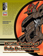 Death Robots of Pulp Destruction (D20 Modern)