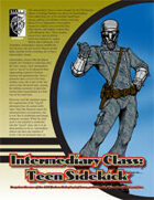Intermediary Class: Teen Sidekick (D20 Modern)