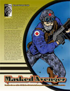 Prototype: Masked Avenger (D20 Modern)