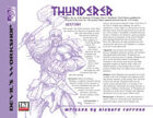 Lost Classes: Thunderer
