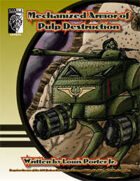 Mechanized Armor of Pulp Destruction (D20 Modern)