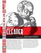 Prototype: Cleaner