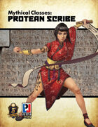 Mythical Classes: Protean Scribe (5E)