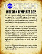 Layout Portfolio InDesign Template 002