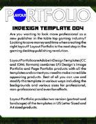 Layout Portfolio InDesign Template 004