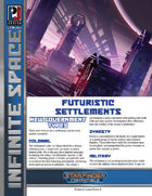 Infinite Space: Futuristic Settlements (SFRPG)