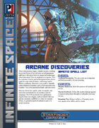 Infinite Space: Arcane Discoveries (SFRPG)