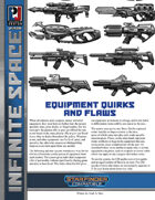 Infinite Space: Equipment Quirks and Flaws (SFRPG)