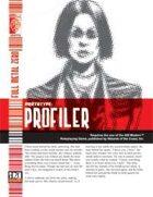 Prototype: Profiler (D20 Modern)