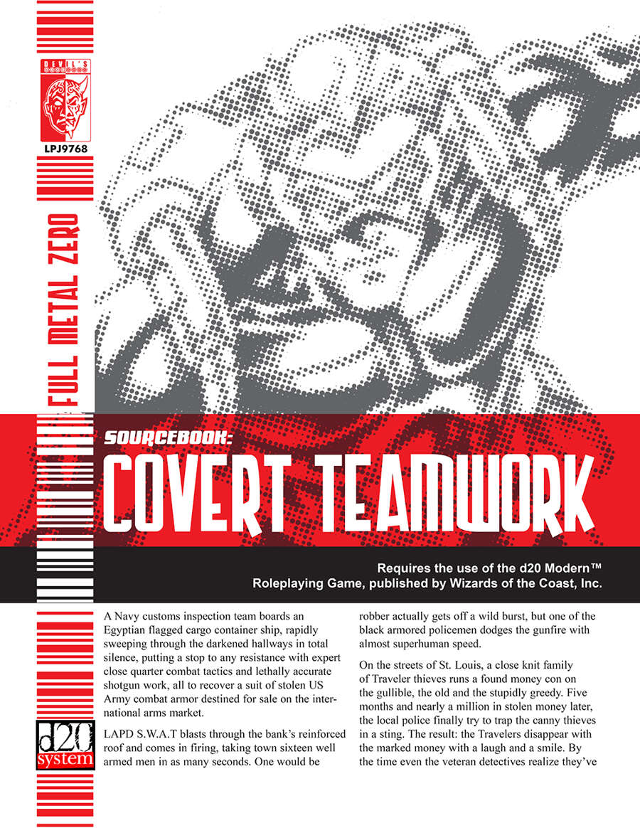 Covert Teamwork (D20 Modern)