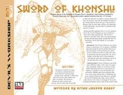 Lost Classes: Sword of Khonsu (D20 OGL)