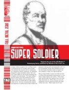 Prototype: Super Soldier (D20 Modern)