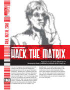Hack the Matrix (D20 Modern)