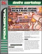 Weapons of Mecha Destruction