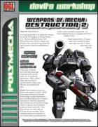 Weapons of Mecha Destruction 2 (D20 Future)