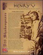 D20 Shakespeare: Henry V