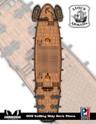 Stock Armada: 008 Sailing Ships Deck Plans