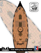 Stock Armada: Free Sailing Ships Deck Plans