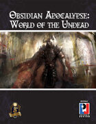Obsidian Apocalypse: World of the Undead (5E)