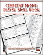 Character Props: Player Spell Book
