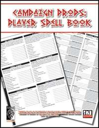 Character Props: Player Spell Book (OGL)