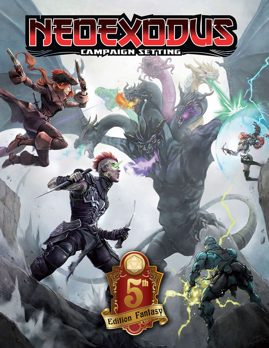 NeoExodus Campaign Setting for 5E [BUNDLE] - LPJ Design | 5th Edition |  DriveThruRPG com
