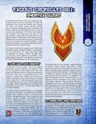 Exodus Chronicles 001: Phoenix Guard (5E)