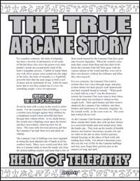 The True Arcane Story: Helm of Telepathy