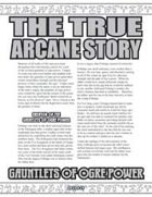 The True Arcane Story: Gauntlets of Ogre Power