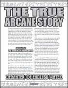 The True Arcane Story: Decanter of Endless Water