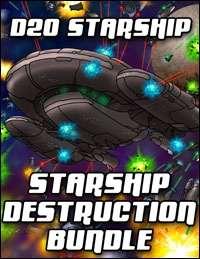 D20 Starship Destruction Bundle [BUNDLE]