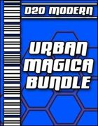 D20 Modern Urban Magica Collection [BUNDLE]